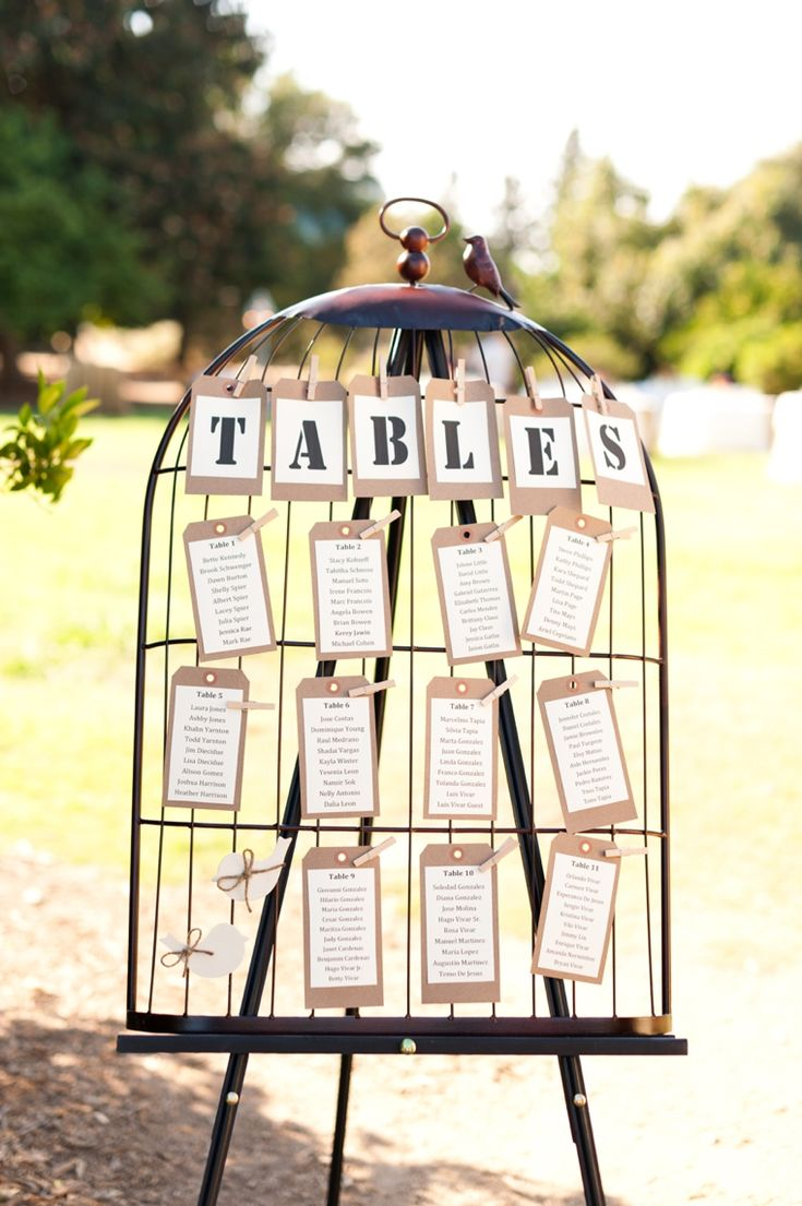 Adorable escort seating | Every Last Detail