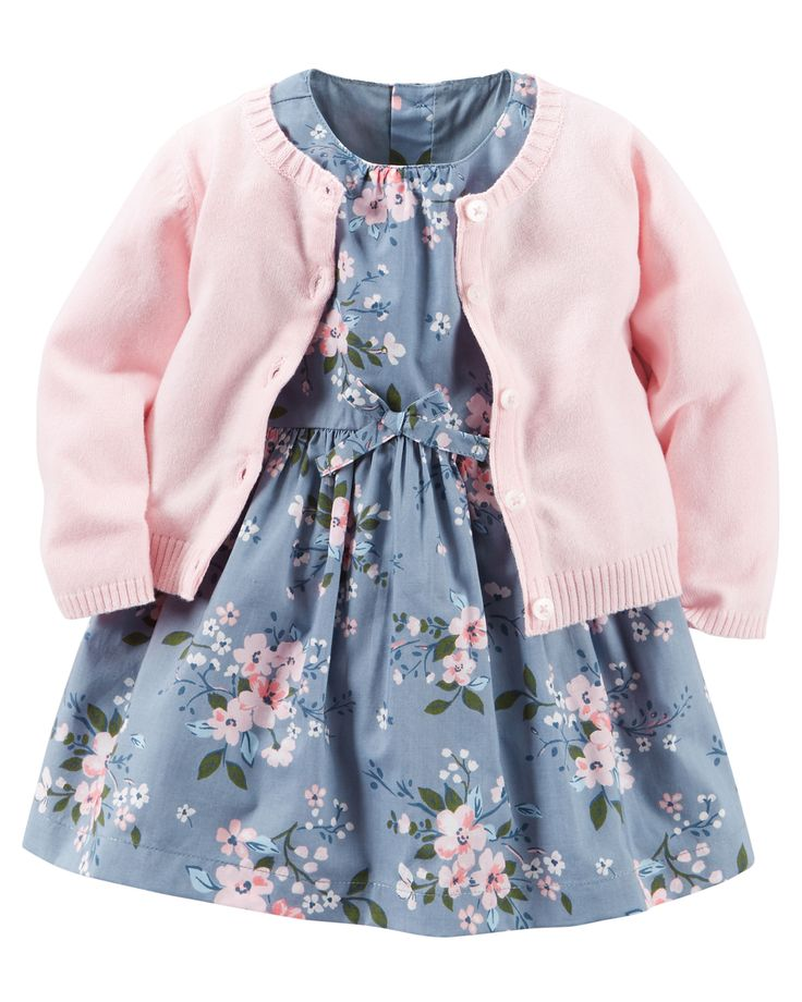 2-Piece Dress & Cardigan Set | Carters.com