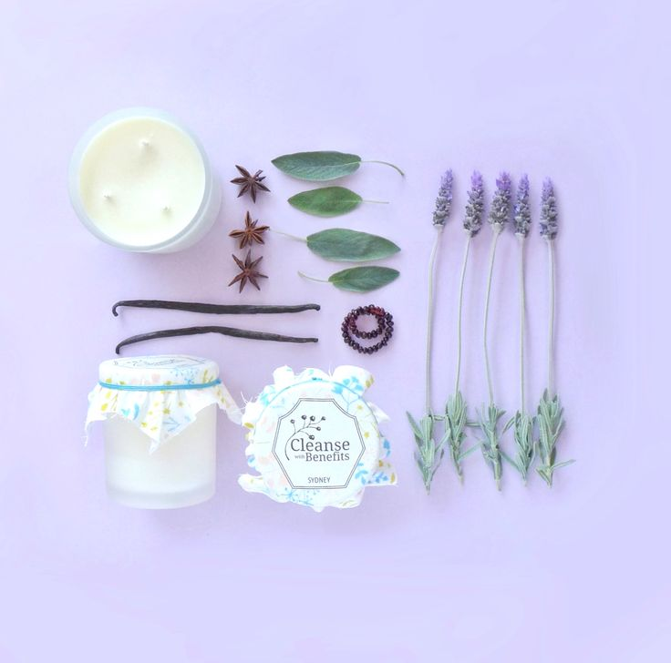 Lavender & Black Amber :: Coconut Wax Candle :: A Unique