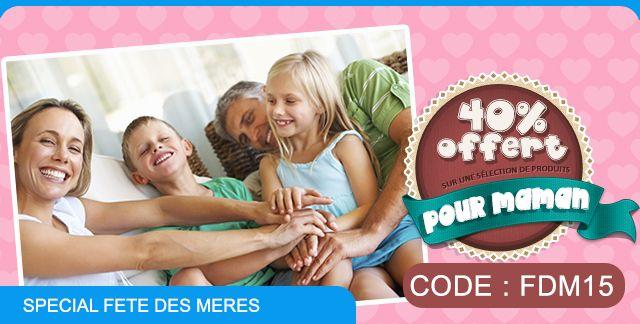 Code promo fête des mères