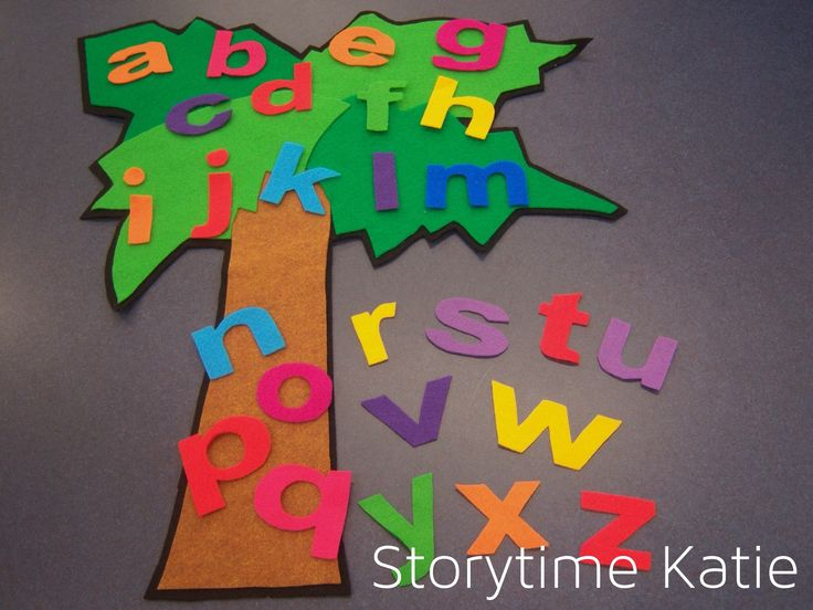 Flannel Friday: Chicka Chicka Boom Boom   storytime katie