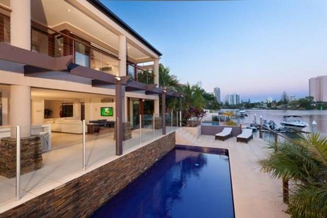 Riverview Fantastic Waterfront Mansion | Gold Coast Waterfront, QLD | Accommodation