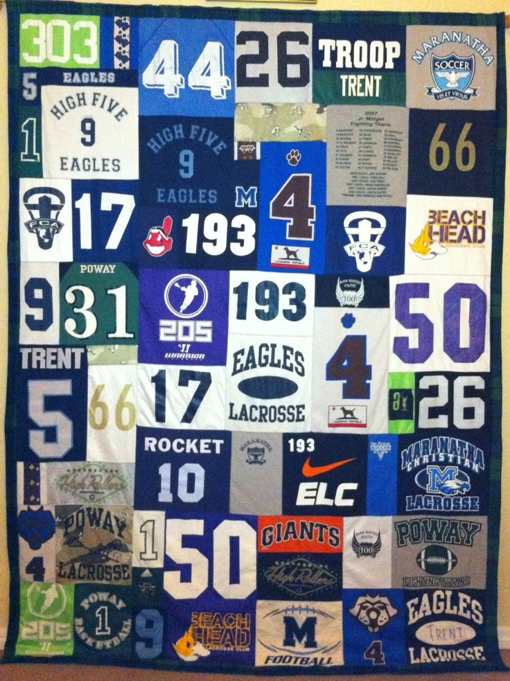 T Shirt Quilt Pattern Queen : 17 Best images about Quilts on Pinterest When you leave, Quilt and Grandmothers