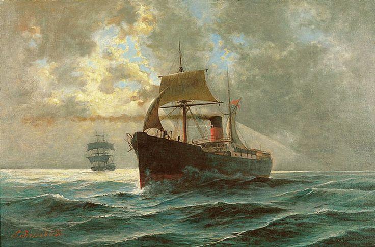 Προσαλέντης Παύλος-Πλοίο στη Θάλασσα . Prosalentis Pavlos