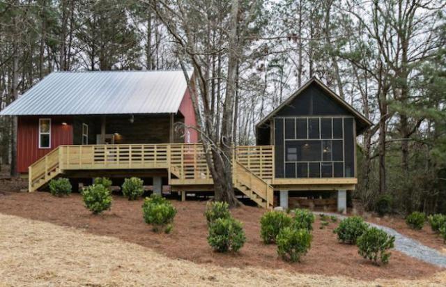 Le 20K Project, ce sont des maisons écologiques et accessibles à tous. © Rural Studio