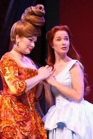 Ariel & Carlotta, The Little Mermaid Broadway Previews
