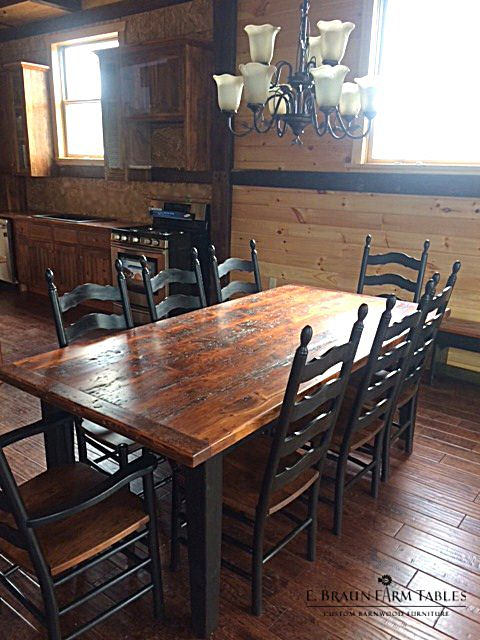 1000 Images About Farm Tables Reclaimed Barn Wood On