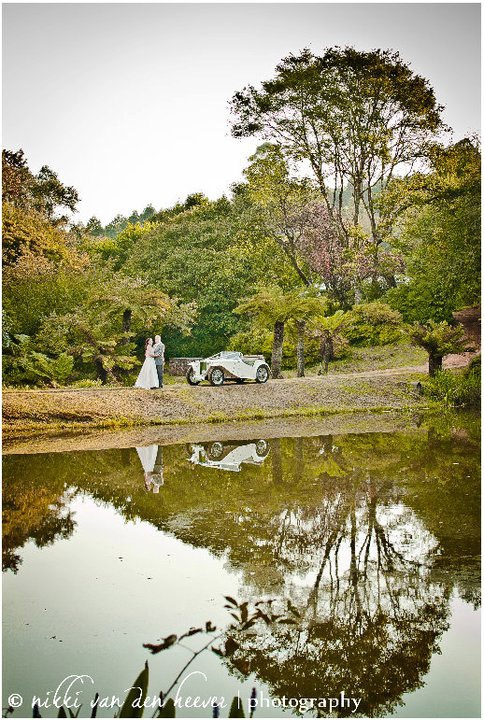 Cheerio Gardens in Magoebaskloof with their famous cherry blossoms and azaleas in spring for your country wedding venue