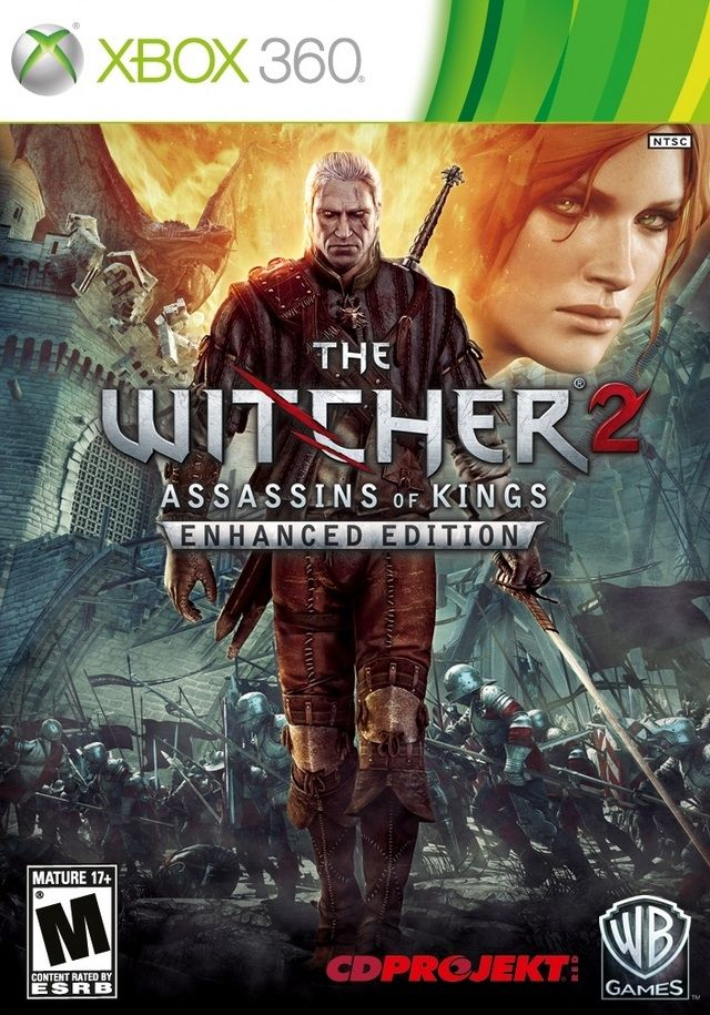 Witcher 2 Xbox 360 NTSC cover
