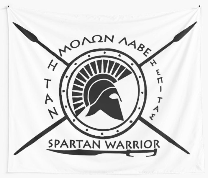 Spartan warrior – Molon lave and come back with your shield or on it / Come back with your shield or on it in greek 'Η ΤΑΝ 'Η ΕΠΙ ΤΑΣ • Also buy this artwork on wall prints, apparel, kids clothes, and more.