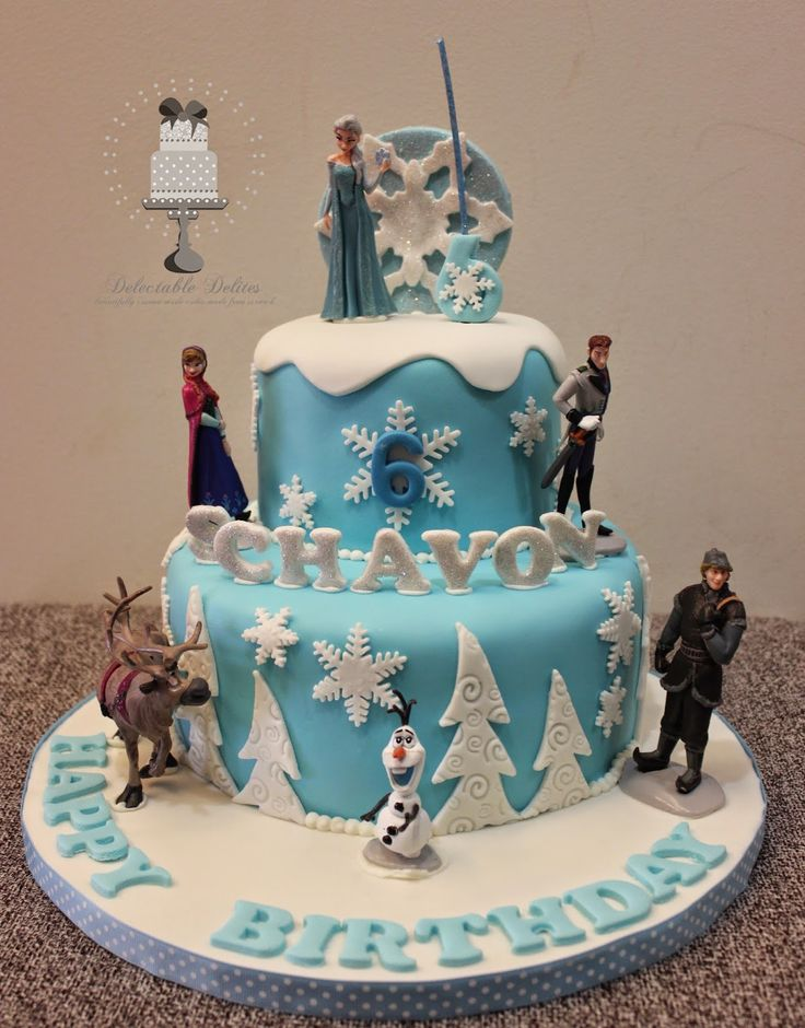 12 best Frozen cakes images on Pinterest Disney cakes Disney