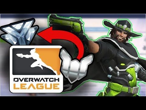 Today I wanted to talk about how to rank up by watching overwatch league and get some benefit from tuning into overwatch league season 1 competitive and its starting season. Now of course watching the game is not as good as playing the game, but one thing that I forgot to mention that will help...
