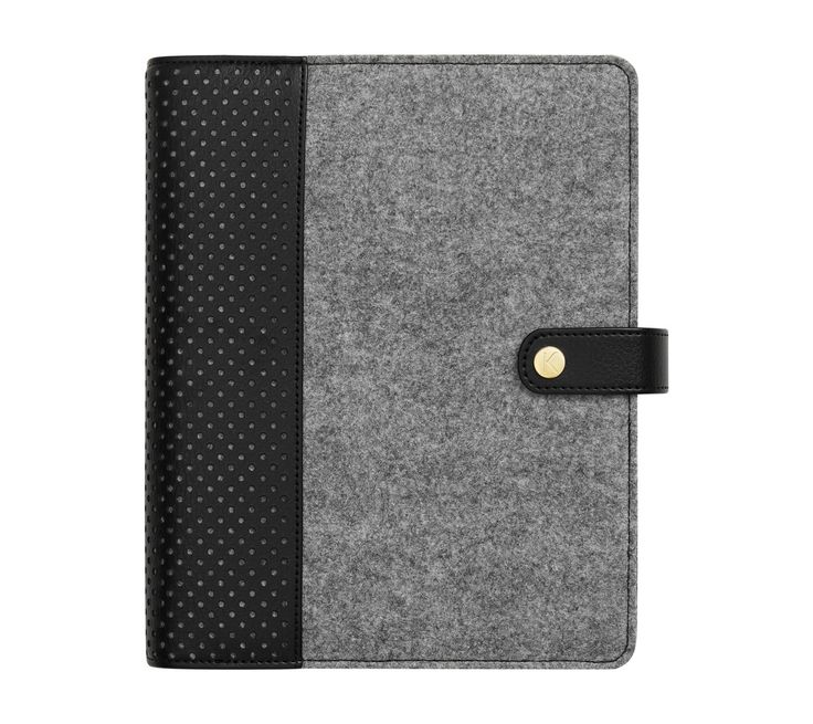 Love adding some Swedish design to your workday with this gorgeous Personal Planner, which features a unique felt cover and perforated detailing. Use it to manage your schedule, priorities, notes and ideas, customising each tabbed section to suit your life and needs.