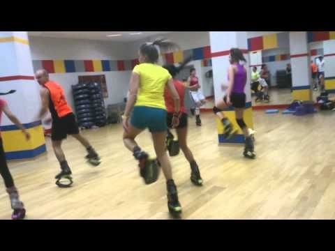 Фитнес семинар Kangoo jumps. Ведет мировая звезда Timea Sifter. - YouTube