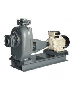 Kirloskar 3 Phase Sewage Coupled Pumpset-SP0 with 1C2 motor, SuctionXDelivery Pipe Size (mm) 40X40, Solid Handling Size -7 mm, Power Rating 1.02 HP and 0.75 KW, Head Range 6-15 Meter, Flow Range  285-72 LPM, Packaging Unit-1, Warranty- As per manufacturer's warranty policy.