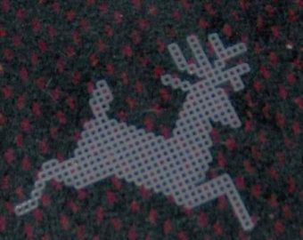 pre cut plastic canvas reindeer