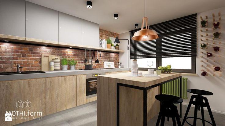 kuchnia rustykalna Kuchnia - zdjęcie od MOTHI.form
