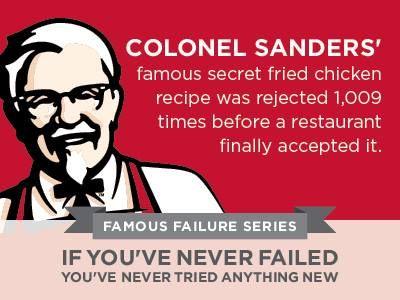 famous failures - colonel sanders