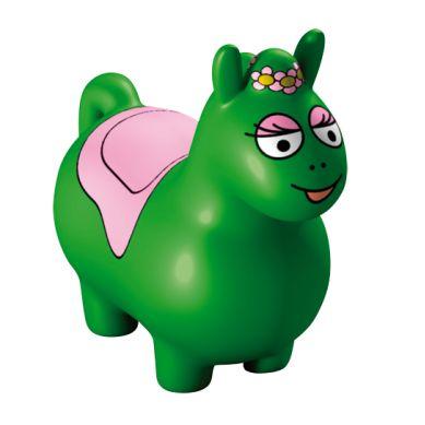 Barbapapa Gumowy Skoczek Zielony