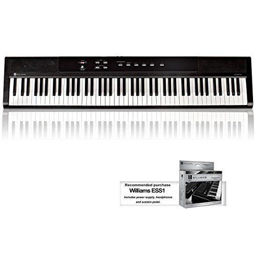 Williams Legato 88-Key Digital Piano Williams