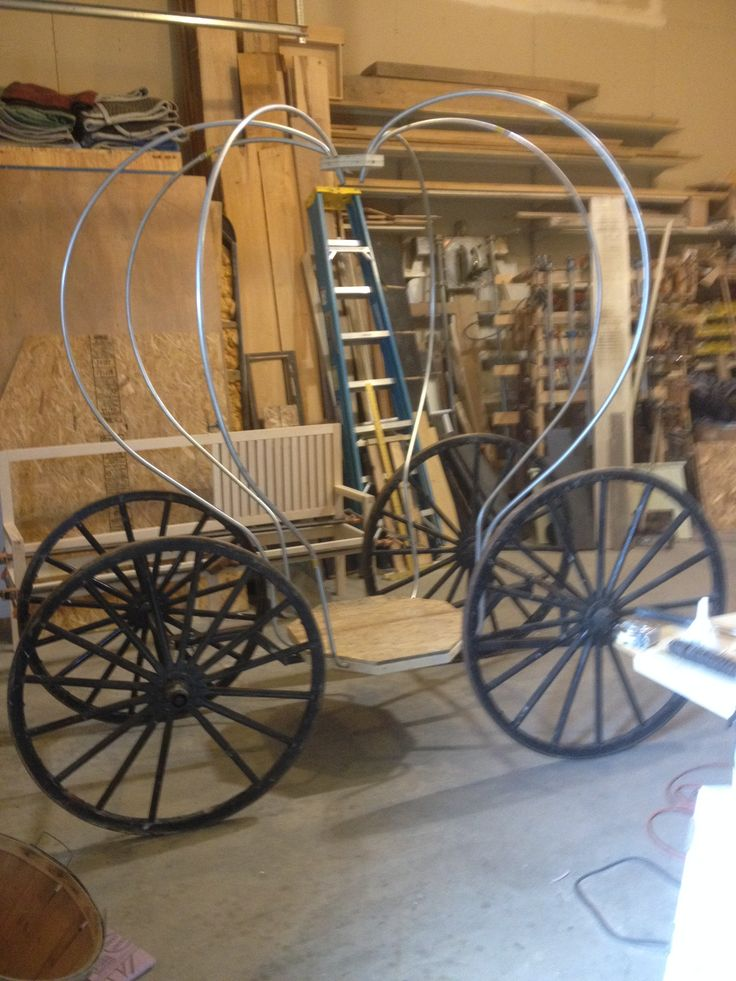 Building Cinderella's Carriage, greenfieldwoodworks.com