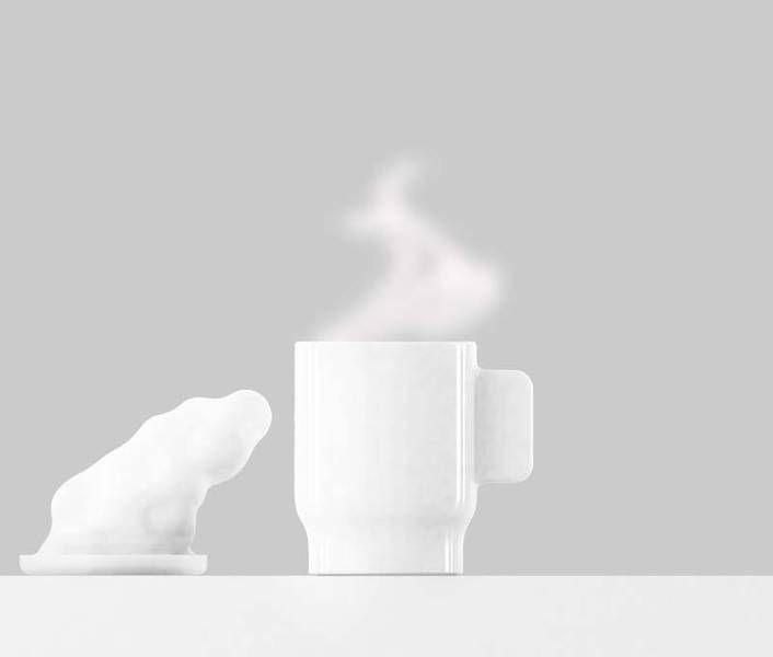 """Quentin Vaulot et Goliath Dyèvre sont les lauréat du Prix du design Agora 2012 avec leur projet """"Un café dans les nuages""""."""