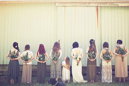 How This Small-Budget Wedding Got Everything Right #refinery29  http://www.refinery29.com/100-layer-cake/45#slide12  Big money saver: Hunter purchased the flowers for wholesale price, didn't hire a florist, but gathered her bridesmaids and made a party out of making all the floral arrangements, bouquets, and boutonnieres.