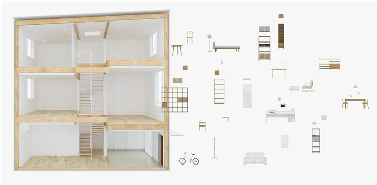 Vertical House | MUJI