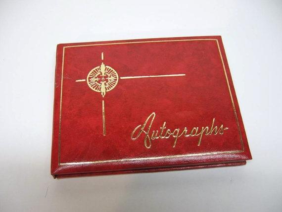 Autograph Books!