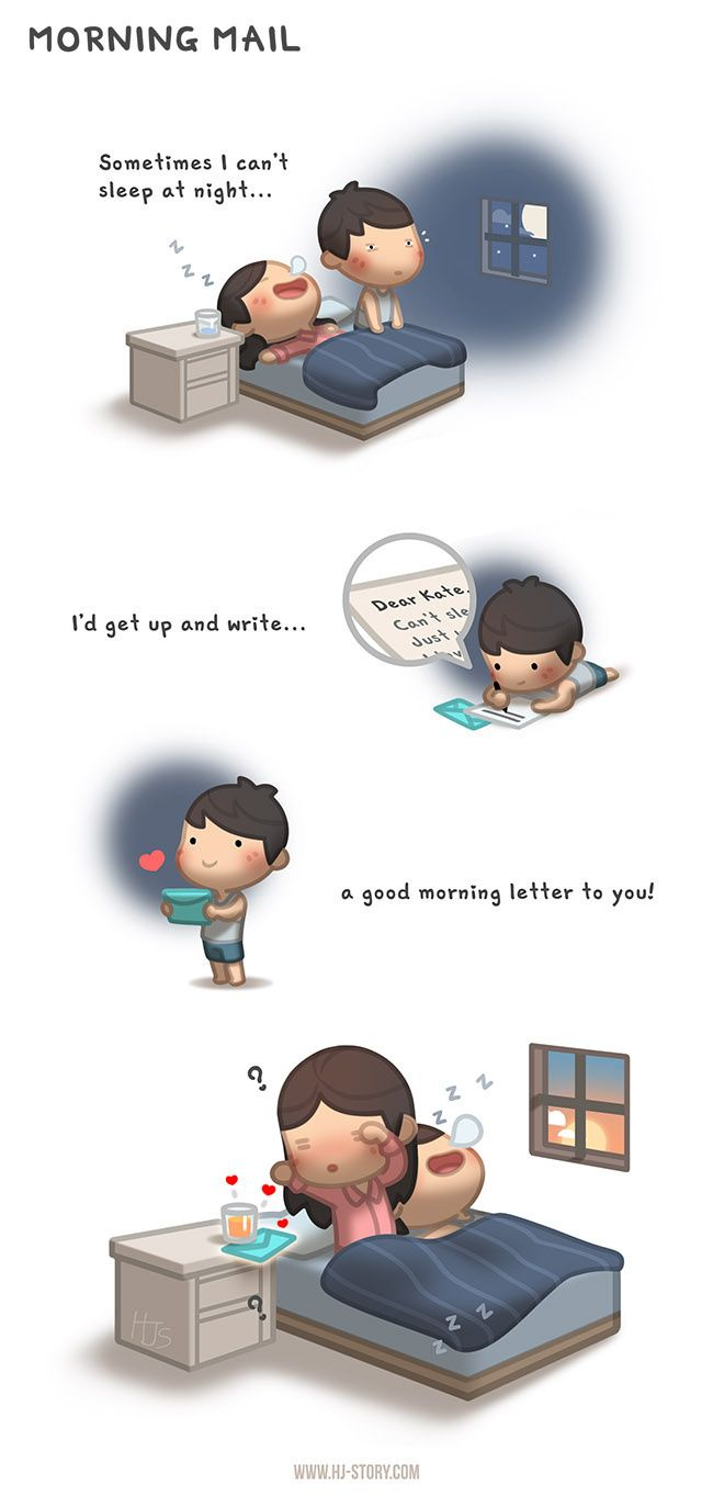HJ-Story :: Morning Mail | Tapastic - image 1