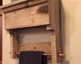 Plataforma de madera rústico muebles muebles al por NCRusticdesigns