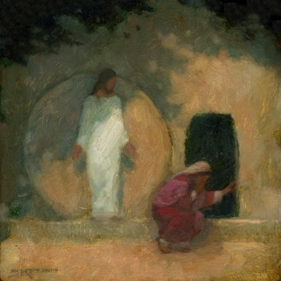 Why Weepest Thou | 12x12 | J Kirk Richards  This speaks to me right now, why worry?