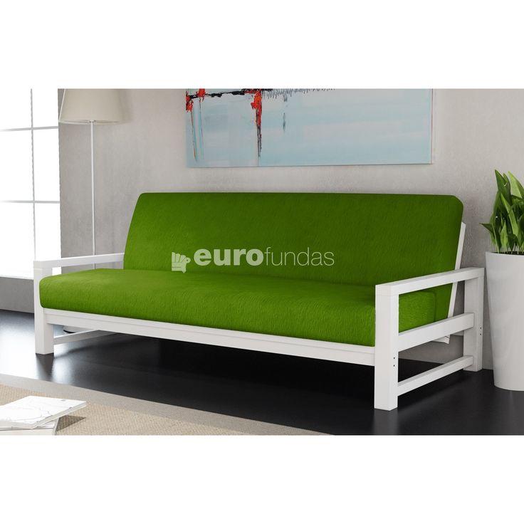 El modelo Lidia para fundas de sofá cama clic clac es uno de nuestros clasicos. Realizado en tejido liso es la opcion mas economica de nuestro catalogo.