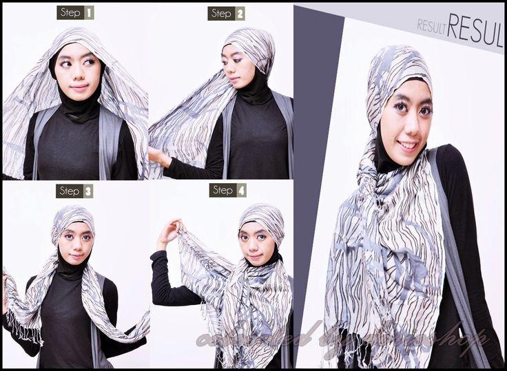 Tutorial Hijab Simple Bagi Pemula - Dorie Shop