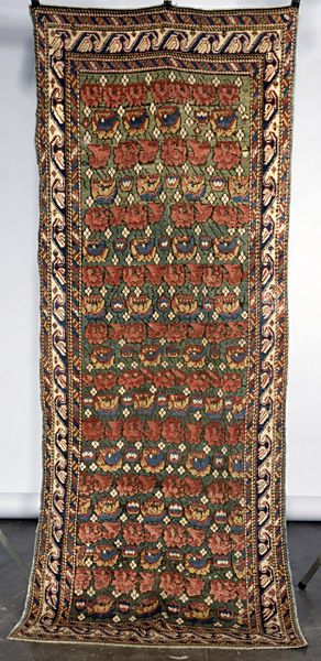 19th century Seichour runner. Very good condition.. Exhibitor: Ron Hort, R.Franklin Hort Oriental Rug Co.
