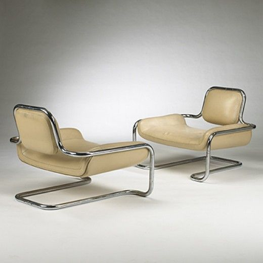 Kwok Hoi Chan, Lemon Sole Chairs for Steiner, 1970.