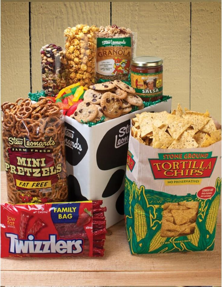 Student Care Package - Over 7 lbs - Stew Leonard's Gourmet Snacks and Treats - Stew Leonard's Gifts