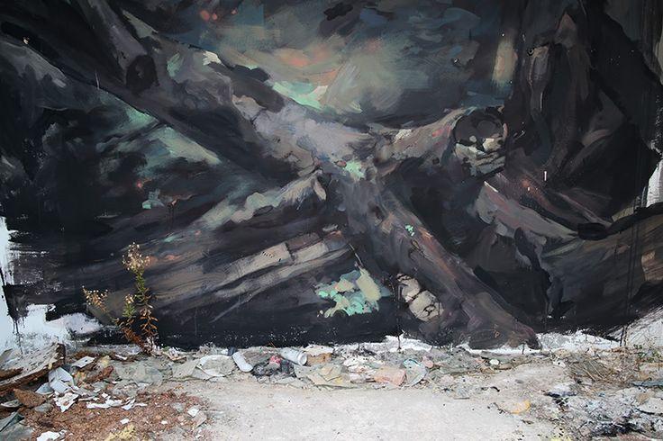 "EMILIO CEREZO  ' ""Introspección'  ..  [Mongat, Spain 2016] (close up 1)"