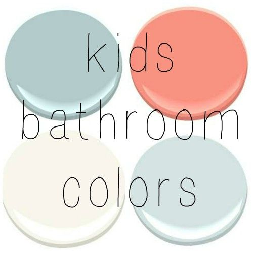 BENJAMIN MOORE: GOSSAMER BLUE, CORAL GABLES, OCEAN AIR, MOUNTAIN PEAK WHITE: Gossamer blue for boys bathroom with a burnt orange color
