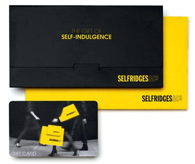 Selfridges Gift Vouchers