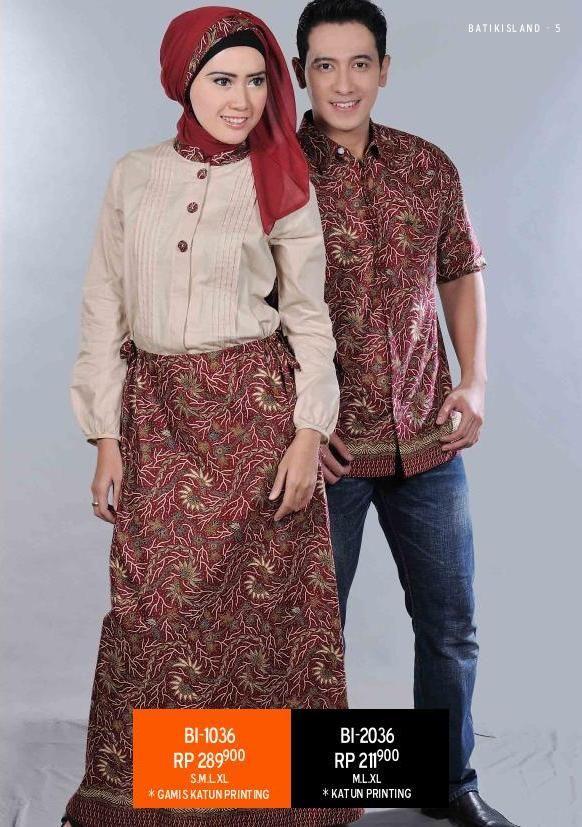 #Gamis & #koko #batik desain terupdate
