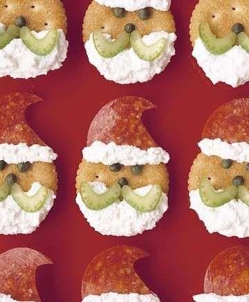 Antipasti natalizi - Salatini decorati