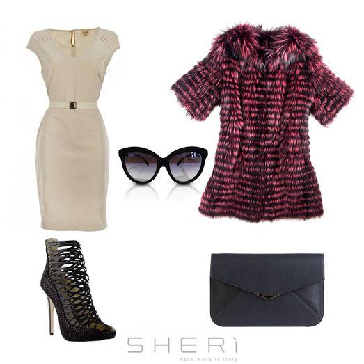 In pieno inverno bisogna coprirsi e riscaldarsi...#SHERì ti consiglia il modo migliore per farlo. www.sheri.it #fur #fashion #handmade #MadeInItalt #outfit