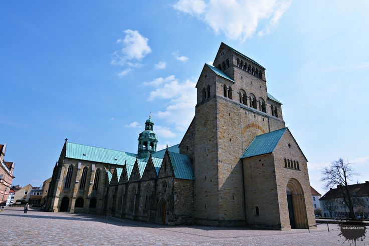Hildesheim Cathedral in Germany.