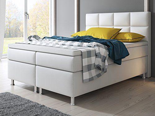 die besten 25 boxspringbett wei 140x200 ideen auf pinterest boxspringbett wei 180x200. Black Bedroom Furniture Sets. Home Design Ideas