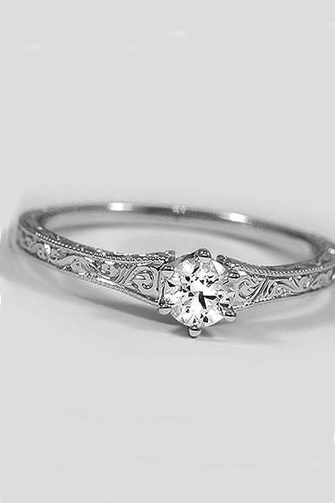 Vintage Diamond Engagement Rings Nyc Ing Used Ring Bad Luck Engagementringsunique Beautiful Wedding In 2018 Pinterest