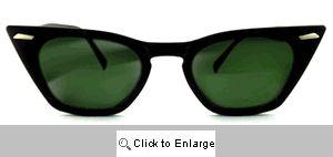 Futura Cat Eye Wayfarers Sunglasses - 131 Black