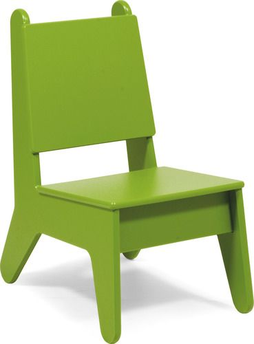 'BBO2 Kids Plastic Outdoor Chair by Loll Designs. @2Modern'