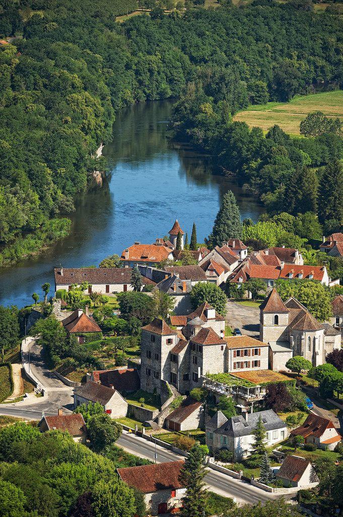 Meyronne, Midi-Pyrenees, France by valleeDeLaDordogne