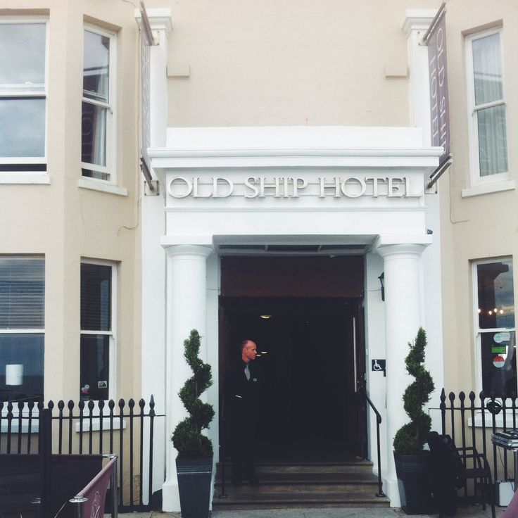 The Old Ship Hotel in Brighton, UK : Exterior
